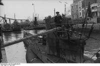St. Nazaire, U-Booteinlaufend