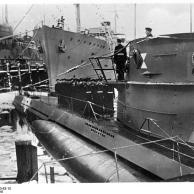 Kiel, Indienststellung U-Boot U 203