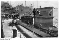 Kiel, Indienststellung U-Boot U203