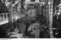 U-107 in See,Bugraum