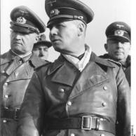 Le Treport, Rommel inspiziert Atlantikwall