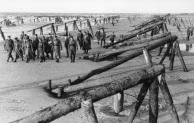 Atlantikwall, Inspektion Erwin Rommel mit Offizieren