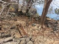 restos do que fora uma Bateria de Costa