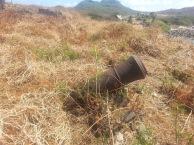 Em nosso país a preservação histórica é a imagem deste canhão