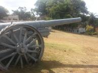 É possível encontrar outros canhões espalhados pela cidade como ornamentação, mas em estado de conservação ruim