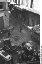 Marseille, Räumung u. Zerstörung des Hafenviertels