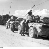 Balkan, italienische Spähpanzer