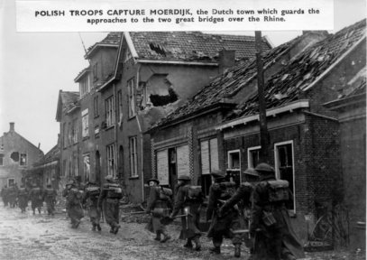 1944. Poolse troepen in Moerdijk.