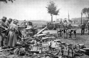 Uma das dezenas de campos que reúnem armas polonesas