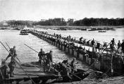 Ponte de combate em condições de avanço